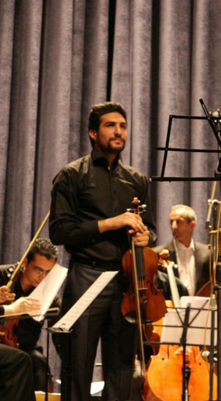 سید وحید حاج میری، مدرس ویلن کلاسیک