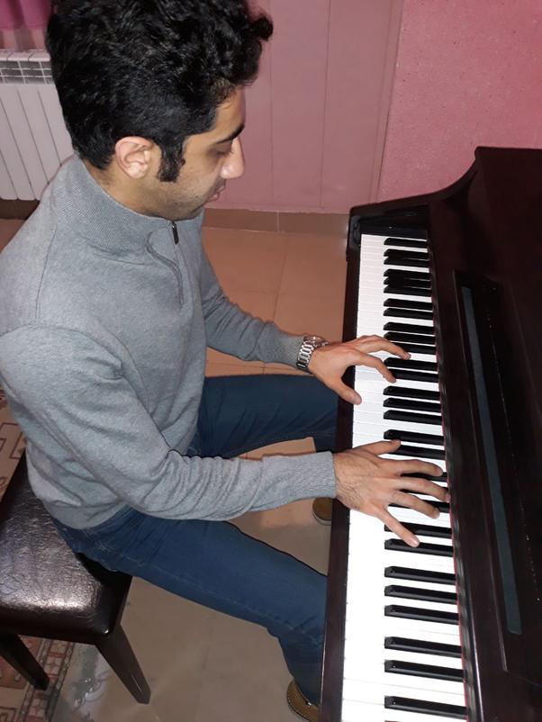 کورش محبوبیان، مدرس پیانو